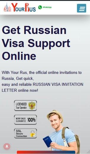 تطبيق السفر روسيا